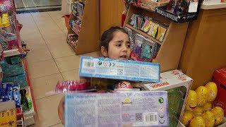 Toyzz Shop Mağazasında Oyuncak Alışverişi Yapıyoruz Froozen Pijamaskeliler Oyuncakları Pjmasks