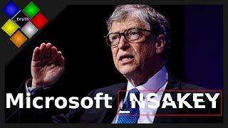 The Microsoft Windows _NSAKEY backdoor