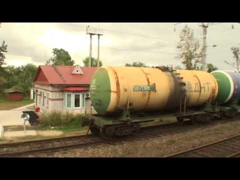 Лесозаводск Приморский край вид из окна поезда
