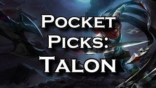 Pocket Picks: Talon Mid - A Unique Assassin in the LCS | League of Legends LoL