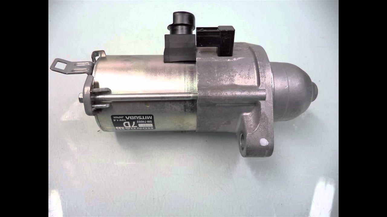 2012 honda cr v starter motor 31200 rx0 a01 for Honda crv starter motor