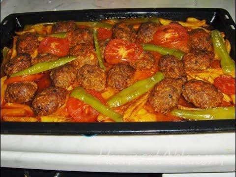 Image result for patatesli kofte firinda