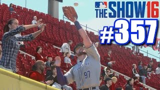 ROBBING A HOMER FROM A LADY! | MLB The Show 16 | Road to the Show #357