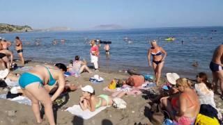 Новый Свет. Крым 2017. Песчаный пляж Стоимость туалета!!!!