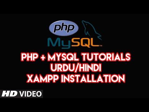 php mysql tutorials for beginners in udru/hindi Xampp Installation Part 02