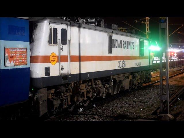 18477 - Kalinga Utkal Express departing PURI