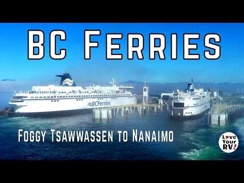 BC Ferry Trip from Tsawwassen to Nanaimo