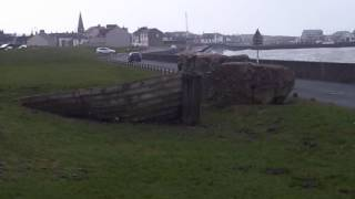 Roman fort walk Maryport.wmv