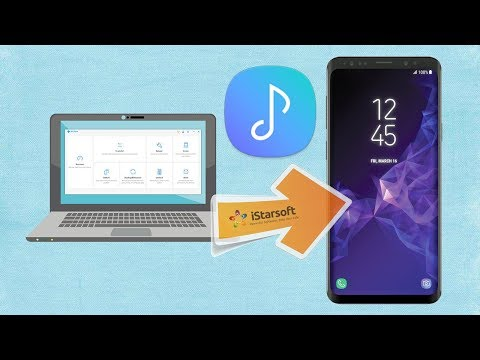 How to Put Music on Samsung Galaxy S9 from Computer