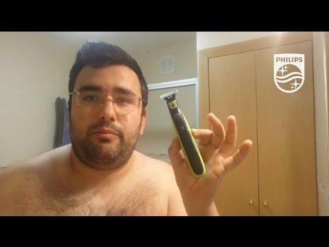 Philips OneBlade. Afeitado #EstoEsOneBlade