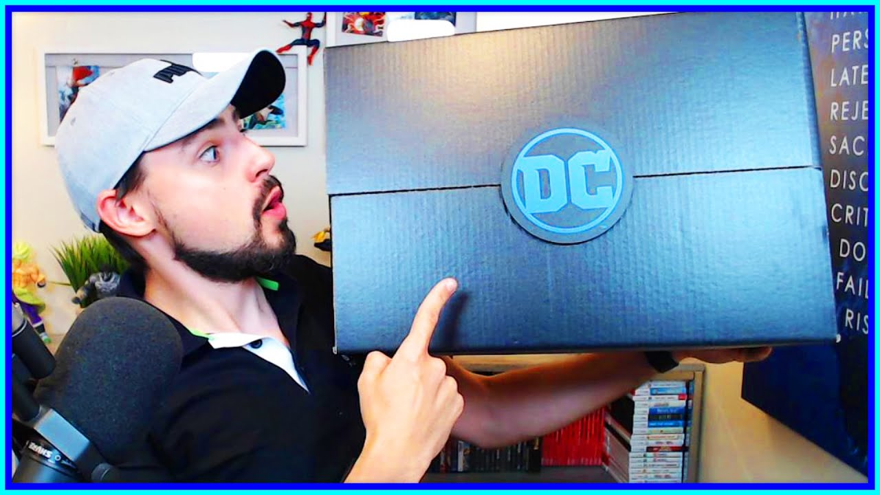 DC FanDome: Exclusive Merchandise Showcases DC's Black ...