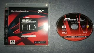 REAL Gran Turismo HD Gameplay on PS3!! - GTHD Install Disc Full Review