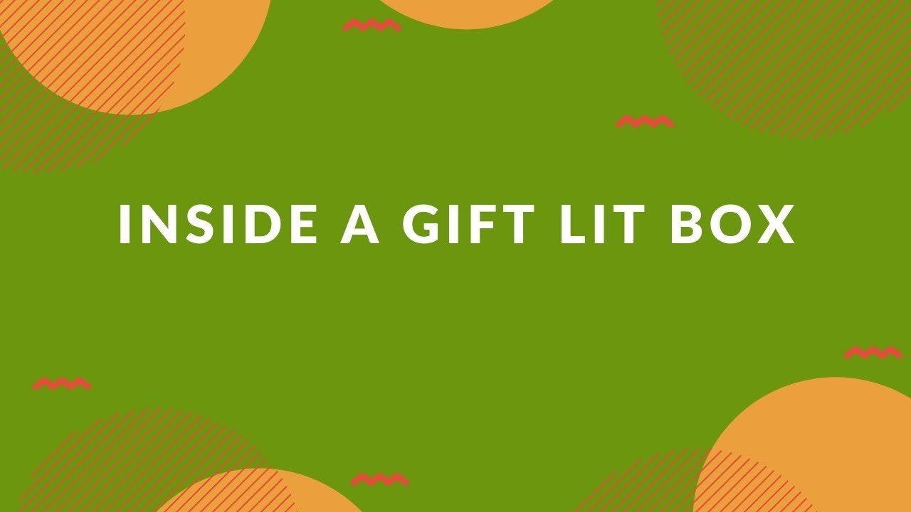 gift lit subscription box an unboxing of the cuddle collection