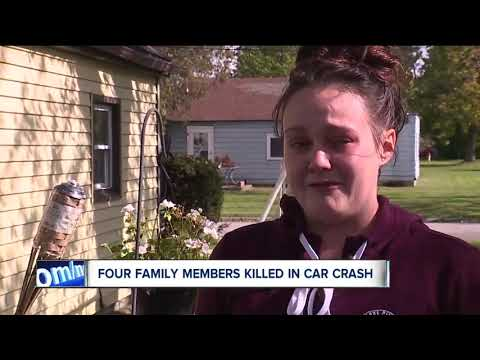 Four people, including 22-month-old child, die in Ashtabula crash