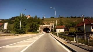 Bosnian road M-17 (04. Konjic town - Jablanica town)