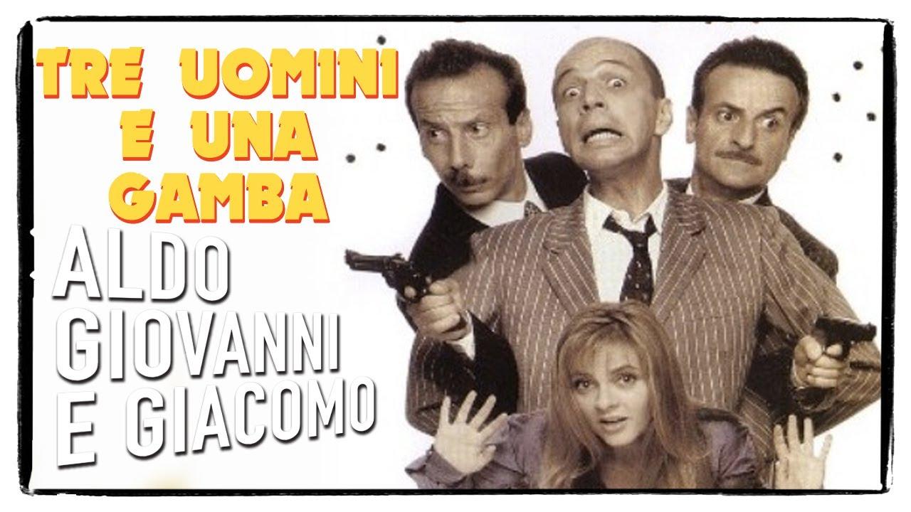 Tre Uomini E Una Gamba Trailer Aldo Giovanni E Giacomo Youtube