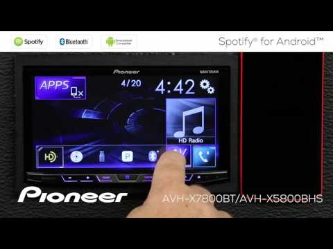 How To - AVH-X7800BT - Spotify for Android