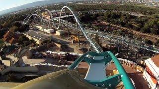 Shambhala POV PortAventura 2012 B&M Roller Coaster OnRide