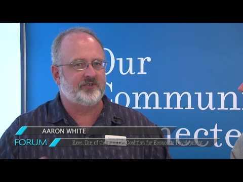 ECTV Forum - Aaron White - Exec. Dir. of the Ellis Co. Coalition for Economic Development