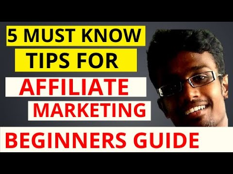 5 Best Tips for Affiliate Marketing for Beginners in 2020 | Tamil | Make Money Through Affiliate
