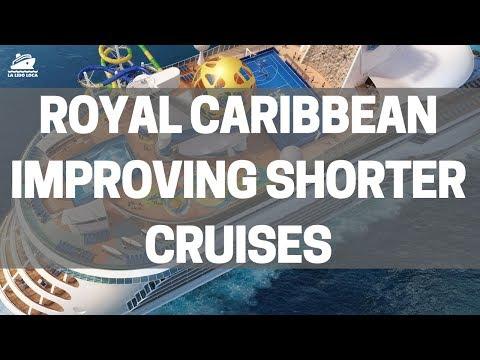 Royal Caribbean Improving Shorter Cruises - Mariner of the Seas Upgrades 2018