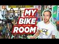 My Japanese Apartment Bike Room Tour w/ DIY Bike Rack