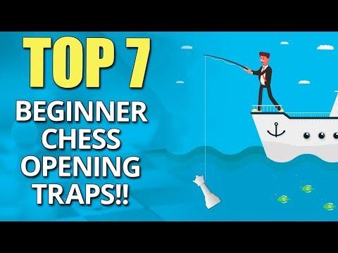 Beginner Chess Opening Traps ☠: TOP 7 by IM Valeri Lilov