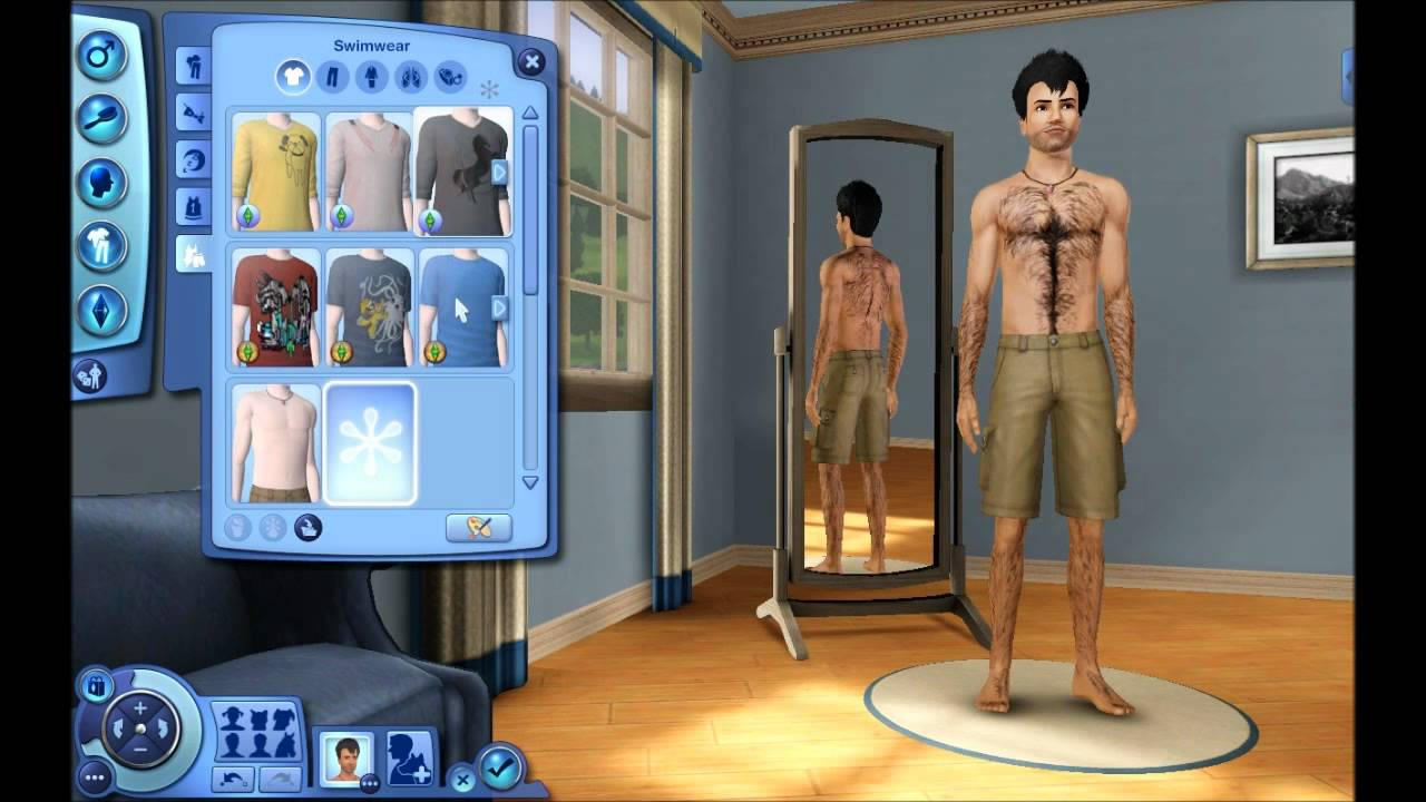 Let 39 s play the sims 3 pets part 1 create a sim w for Schaukelstuhl sims 3