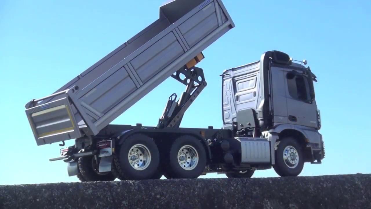 Carson Scheinwerfer Beleuchtungsplatinen 7.2 Volt für Tamiya LKW Scania 1:14