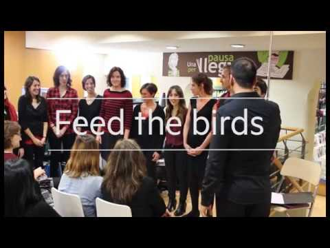 Feed the birds. Cor sOns