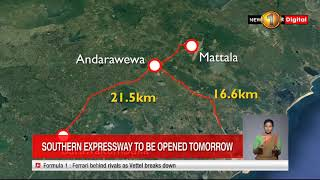 Another section of the Southern expressway opened to the public