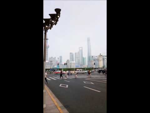 Day trip from Haining to Shanghai August 2017