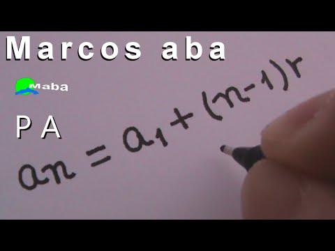 PA - Progressão aritmética - aula 01