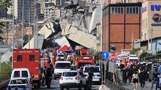 Crollo Genova, l'ultimo pesantissimo bilancio delle vittime  | LE NOTIZIE DEL GIORNO