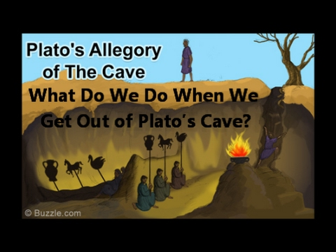 allegory of the cave plato realm The allegory of the cave is a story from book vii in the greek philosopher plato's masterpiece the republic, written in 517 bceit is probably plato's best-known story, and its placement in the republic is significant, because the republic is the centerpiece of plato's philosophy, and centrally concerned with how people acquire knowledge about beauty, justice, and good.