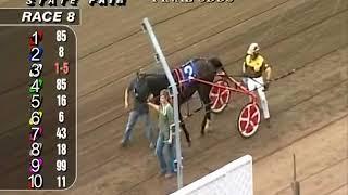 Race 8 Springfield State Fair Harness Racing August 15, 2018 Meyer On Fire