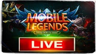 🔴 СТРИМ: Mobile Legends ● БРЕЙН ИГРАЕТ С ПОДПИСЧИКАМИ!