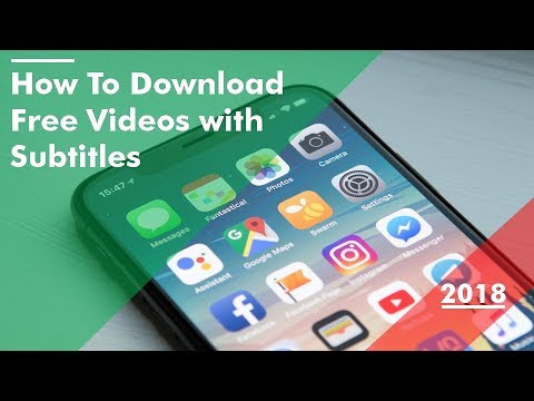 How to Download Free Videos with Subtitles 2018