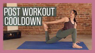 Post Workout Cooldown - Full Body Stretch & Feel Good Flow {20 min}