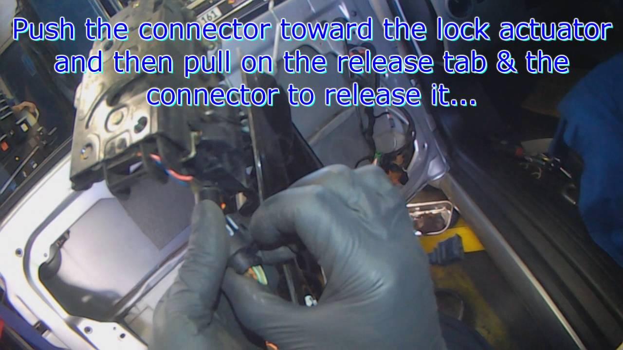 vw a4 new beetle door lock actuator removal [ 1280 x 720 Pixel ]