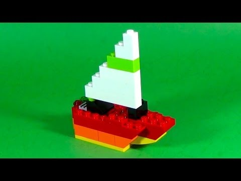 How To Build Lego Sailing Yacht 4630 Lego Build Play Box