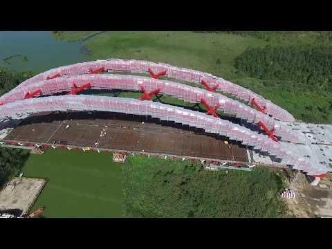 Budowa obwodnicy Ostródy #Budimex #DK16 #S7 - © by E-movies