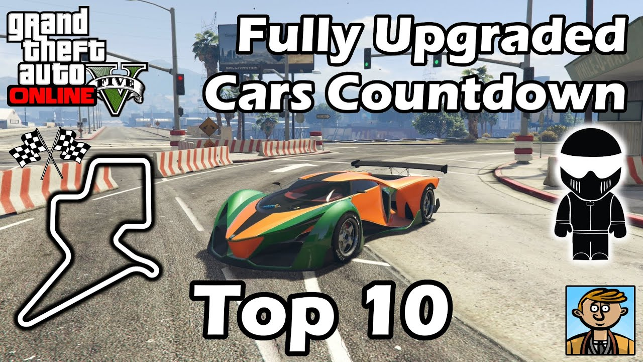 Top 10 fastest cars bikes 2016 best fully upgraded cars in gta online youtube