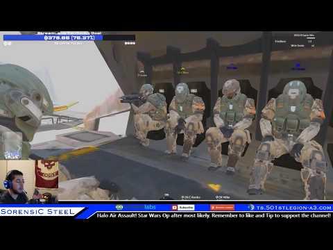"Sorensic Streams Arma 3 Halo Operation ""Saving Sergeant-Major Sorensic"""