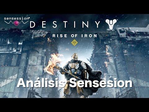 Los Señores de Hierro - Destiny DLC Análisis Sensssion