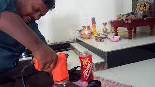 रुद्राक्ष के मणि को कैसे ड्रिल मशीन से छेद करते है  . HOW TO DRILL IN RUDRAKSH MANI