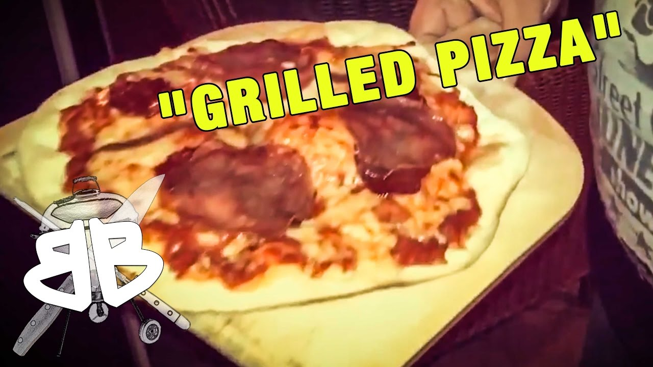 Pizza Gasgrill : Pizza aus dem gasgrill youtube