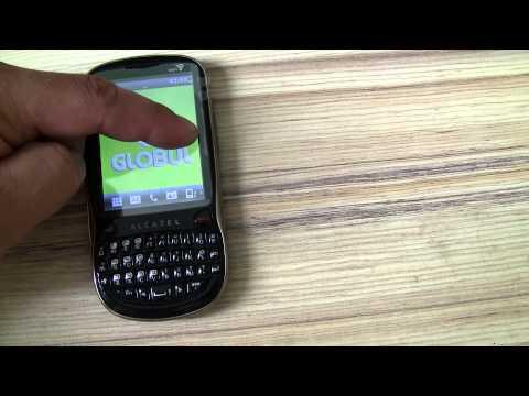 Alcatel ot806 touch screen problem
