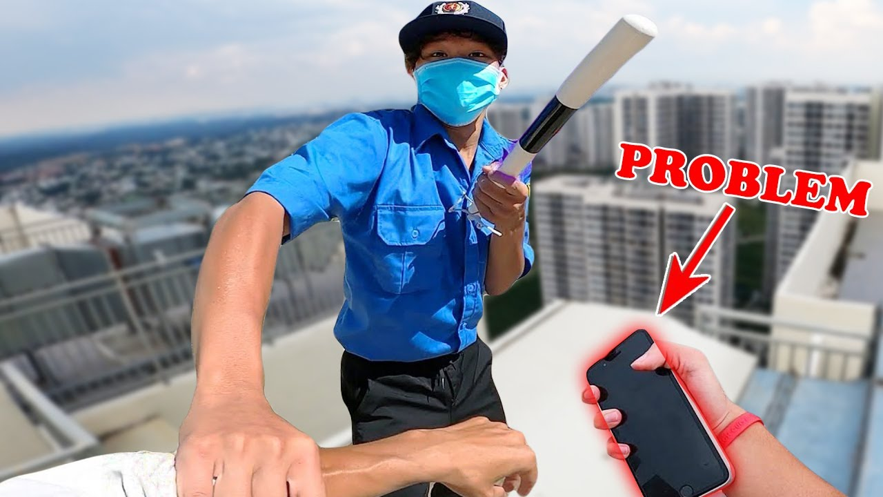 FAKE SECURITY ESCAPE vs CRAZY PARKOUR POV ( Prison Break )    RUN NOW Parkour Film