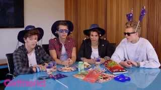 The Vamps taste test Australian food